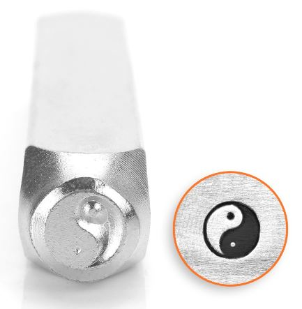 Yin Yang<br>Design Stamp<br>6mm