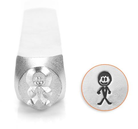 Groom Stick Figure<br>Design Stamp<br>7mm