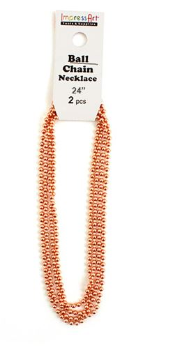 Ball Chain<br>Copper<br>2 Pack - 60cm