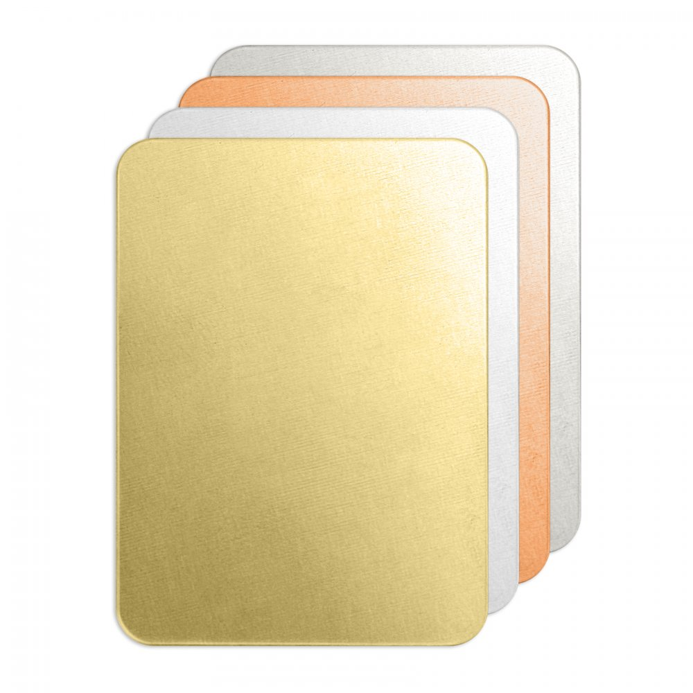 Rectangle<br>Premium Stamping Blank<br>50mm x 35mm