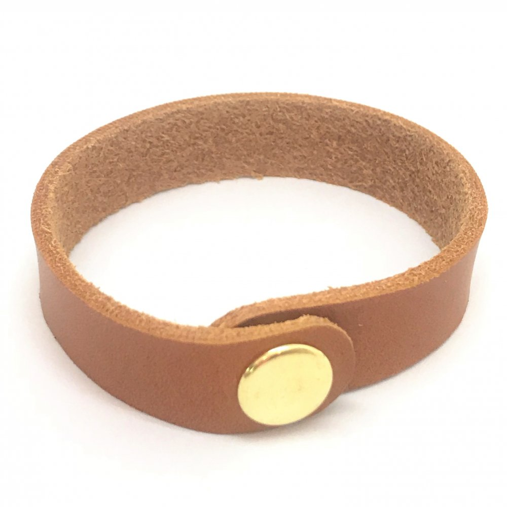 Wrist Strap<br>Teak Leather<br>19mm x 210mm (Small)