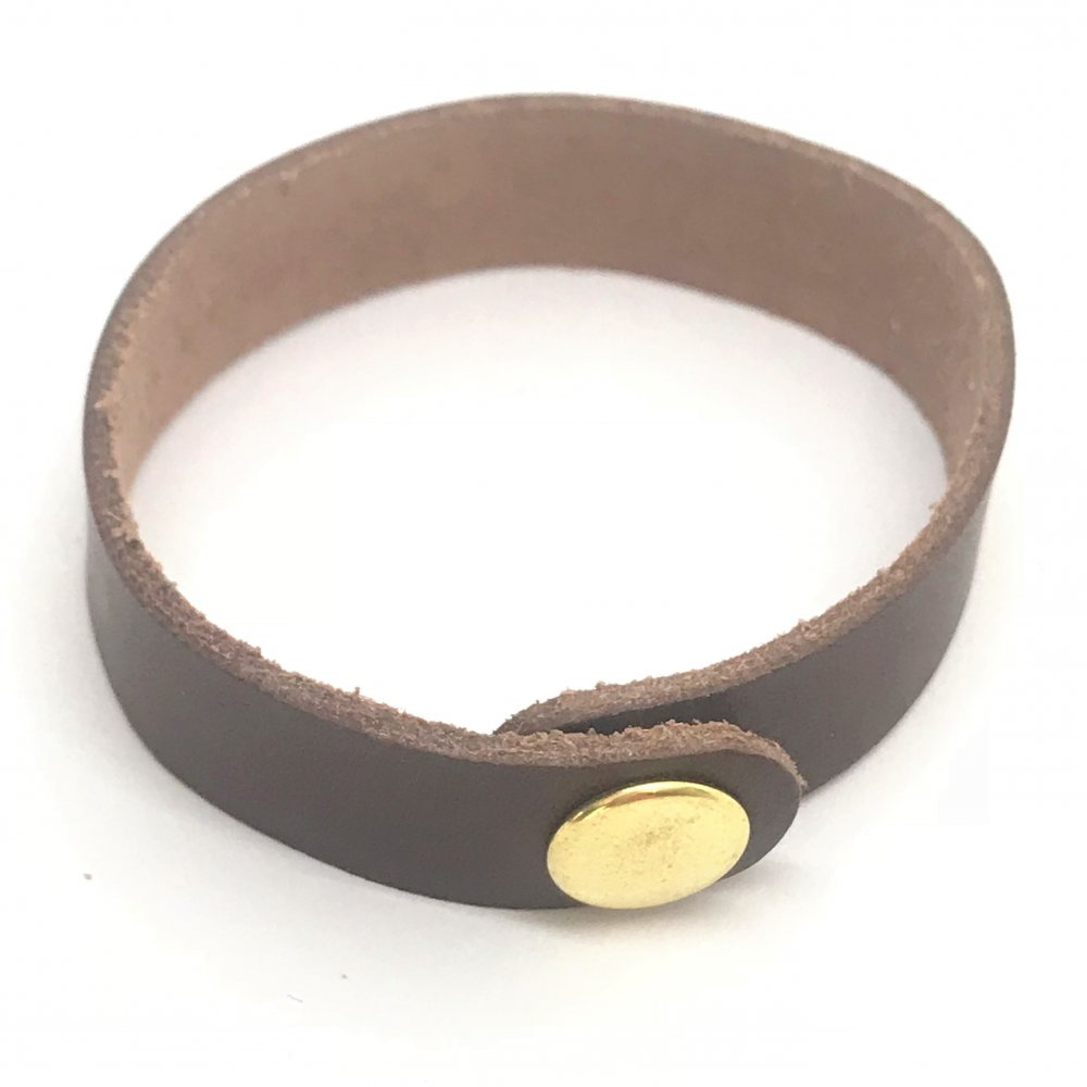 Wrist Strap<br>Bark Leather<br>19mm x 210mm (Small)