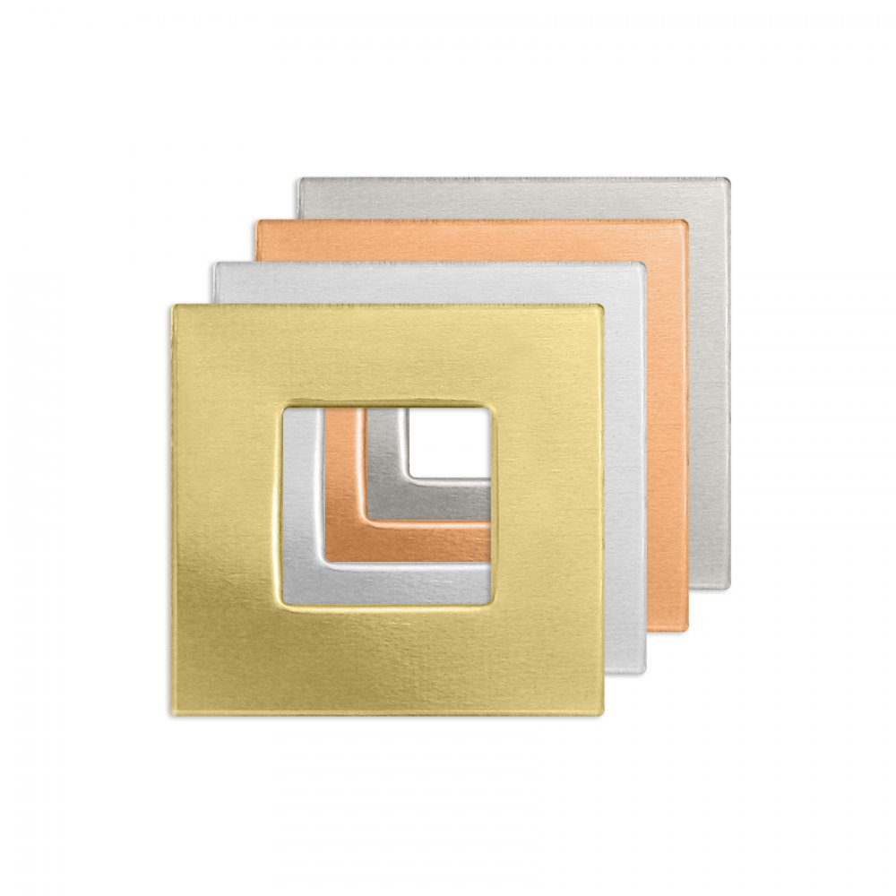 Square Washer<br>Premium Stamping Blank<br>16mm