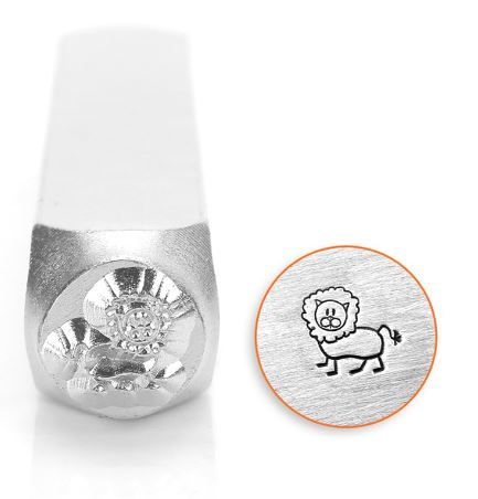 Leo the Lion<br>Design Stamp<br>6mm