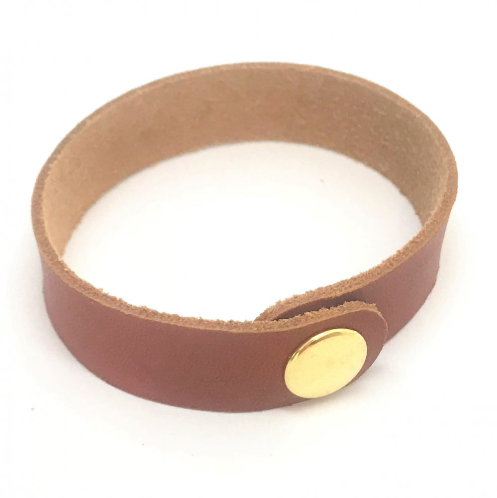 Wrist Strap<br>Terracotta Leather<br>19mm x 210mm (Small)