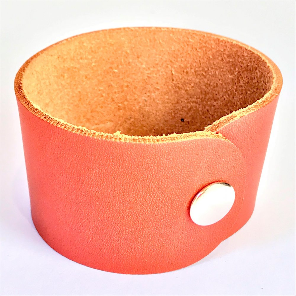 Wrist Strap<br>Terracotta Leather<br>40mm x 210mm (Small)